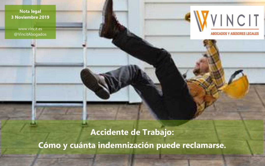 Accidente de trabajos VINCIT Abogados